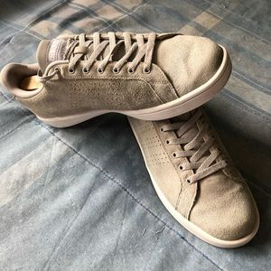 adidas Shoes - Adidas Light Gray Suede Lifestyle Shoes, Worn VGC